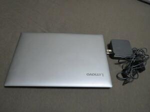 ★美品★レノボ Lenovo ノートパソコン PC ldeapad S130 ミネラルグレー メモリ4GB windows10 Home64 ストレージ128GB SSD