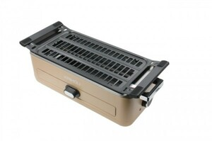 焼肉ロースター ベージュ スモークレス グリル 調理器具 キッチン用品 一人暮らし 1人暮らし 新生活