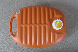 湯たんぽ(オレンジ) 2.8リットル