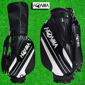 ♪ホンマ/ゴルフ キャディーバック 9型【ブラック】新品!
