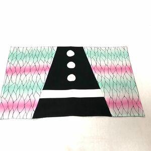 ランチョンマット 40×60  鬼滅の刃 胡蝶しのぶ 羽織り風