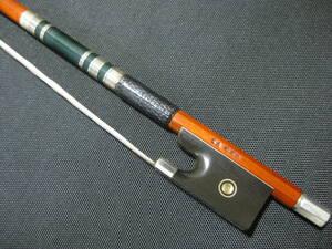 【上級弓】3つ星 E.サルトリーモデル バイオリン弓 4/4 「SA ***」