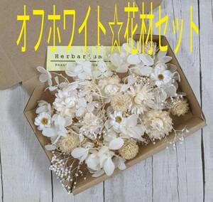 オフホワイト☆花材セット