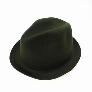 未使用品 レナードプランク REINHARD PLANK 19AW BONA/L01 ウール 中折れ ハット 帽子 SIZE 11 カーキ 6501992005 col.23 国内正規