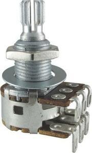 ポット Potentiometer - Bourns, Dual MN Taper, Knurled Shaft, 500 kΩ [送料170円から 同梱可]