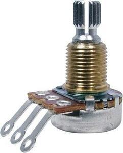 ポット Potentiometer - Bourns, Audio, Knurled Shaft, Mini, 500 kΩ [送料170円から 同梱可]
