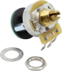 ポット Potentiometer - Fender, S-1, Knurled Shaft, 4PDT, 250 kΩ [送料170円から 同梱可]