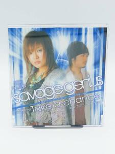 【CD】【ゲームソング】savage genius/Take a Chance ■PS2ソフト「ガンダム トゥルーオデッセイ~失われしGの伝説~」主題歌