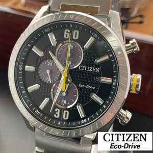 海外限定品!! シチズン CITIZEN エコドライブ ソーラー腕時計 クロノグラフモデル セイコーやオリエント、ハミルトンの時計をお探しの方