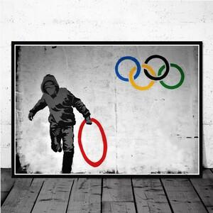 オリンピックポスター インテリア A3サイズ アートポスター