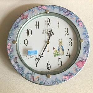 Seiko Peter Rabbit wall clock radio wave clock wall wall clock electro-magnetic wave clock with translation