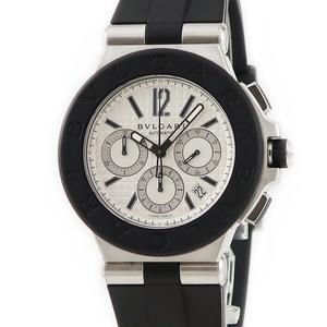 【3年保証】 ブルガリ ディアゴノ クロノ DG42SVCH 自動巻き メンズ 腕時計