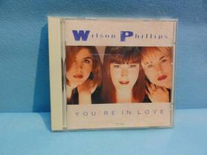 CD-113 Wilson Phillips 「YOU'RE IN LOVE」シングルCD 中古品