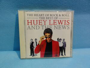 CD-121 THE BEST OF HUEY LEWIS AND THE NEWS「THE HEART OF ROCK&ROLL」 中古品