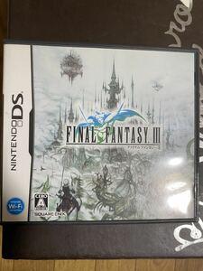 DSソフト ファイナルファンタジーIII 送料無料