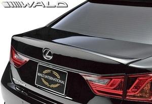 【M's】レクサス LEXUS GS250 GS350 GS450h GRL10 (H24.1-H27.11) WALD EXECUTIVE LINE トランクスポイラー//ABS GS ヴァルド エアロ