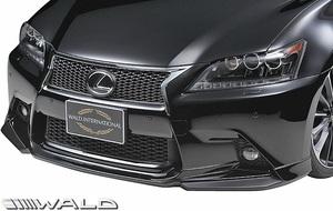 【M's】レクサス Fスポーツ GS250 GS350 GS450h GRL10 (H24.1-H27.11) WALD EXECUTIVE LINE フロントスポイラー//ABS LEXUS GS ヴァルド
