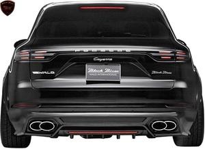 【M's】ポルシェ カイエン 9YA (2018y-) WALD Black Bison リアスカート//FRP製 ヴァルド バルド エアロ リヤスカート Porsche CAYENNE