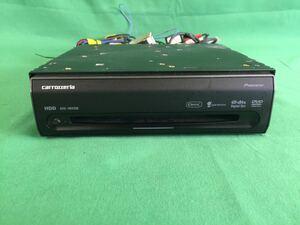 MC282 中古 カロッツェリア carrozzeria カーナビ HDDナビ AVIC-HRV200 CD/WMA/MP3/AAC/DivX オンダッシュモニター 7型 1DIN 動作保証