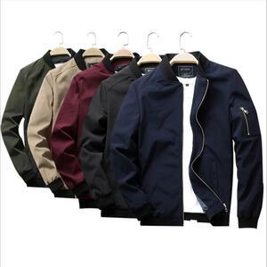 メンズ ミリタリージャケット ライダースジャケット ジャンパー ブルゾン  秋冬アウター 大きいサイズ M~6XL