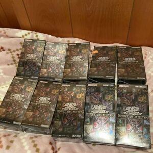 遊戯王 プリズマティックアートコレクション 10箱 アートボックス PRISMATIC ART COLLECTION 新品未開封シュリンク付き
