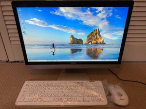 極速SSD搭載 WIN10 ASUS V221 Core I3-7100 2.40GHz 4G 256G HD620 OFFICE 2013搭載 東京即日発送
