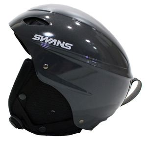 катастрофа  ч  ...!!  Бесплатная доставка!  Новый товар  * SWANS/ Лебеди / Снег  шлем /H-45R/GMT/S