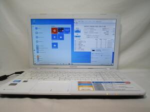 東芝 dynabook B452/23G Celeron B830 1.8GHz 8GB 240GB 爆速SSD(新品) 15.6インチ DVD作成 Win10 64bit Office USB3.0 Wi-Fi HDMI [78891]