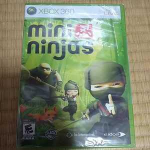 送料無料★新品未開封★Xbox360★mini ninjas★ミニニンジャ★北米版★海外版★日本の本体で動作可