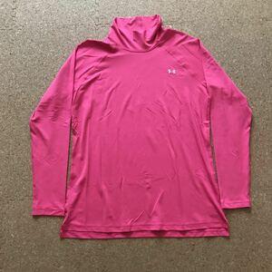 アンダーアーマー FITTED heatgear アンダーウェア アンダーシャツ XLサイズ トレーニング ジム メンズ 長袖シャツ UNDER ARMOUR