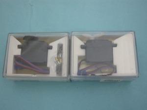 【送料無料】新品未使用 SANWA  サンワ ラジコン サーボセット SX-101Z SRM-102Z 2個セット フタバ JR に使用可能