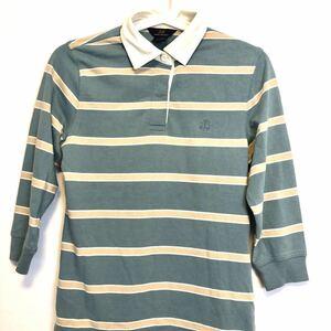 ブルックスブラザーズ Brooksbrothers ポロシャツ M 美品 ラガーシャツ