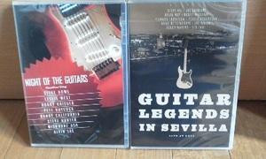 歴史的Live/廃盤/新品 Night of The Guitars/guitar Legends in Sevilla Yes/Pink Floyd/Queen/Eagles/Steve Vai/Joe Satriani他多数