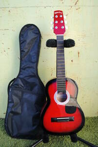 ku599 * Mini acoustic guitar /Sepia Crve/W-50 RDS/ soft case attaching / sepia Crew / guitar / stringed instruments /6 string