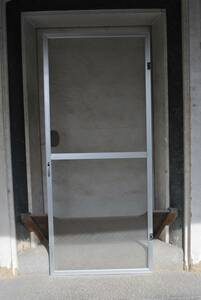 e604 * opening door / screen door /1 sheets /DIY/ low eyes / handle attaching / height approximately 170./ width approximately 73.5.