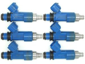 内部洗浄済み 傷多 GRB インプレッサ WRX STI インジェクター 流用用6本セット R35GT-R用等を検討中の方に