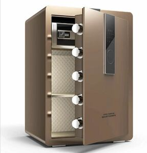 safe home use security box a4 file correspondence (75.2 L Brown )