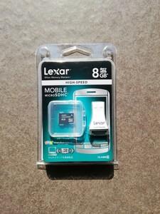 Lexar Micro SDHC 8GBハイスピードベビーメモリーカード
