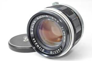 貴重レンズ オリンパス OLYMPUS G.Zuiko Auto-S 40mm F1.4 【145375】 ♯A32
