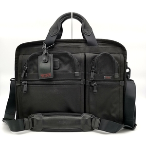 送料無料 トゥミ TUMI ビジネスバッグ ブリーフケース 書類カバン 鞄 26108DH アルファ オーガナイザー ポートフォリオ 2WAY 黒系 メンズ