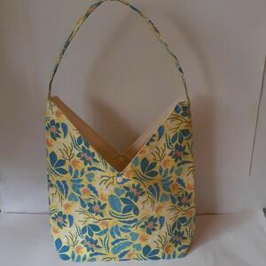 花柄ハンドメイドトートバッグ