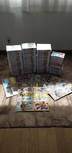 【新品 100巻 最新刊セット】ONE PIECE 全巻セット ワンピース 非売品収納BOXを30個付けます! 送料無料