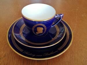 ロイヤルコペンハーゲン ビングオーグレンダール デンマーク コーヒーカップ&ソーサー&ケーキ皿 3点セット 新品
