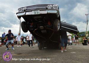 ローライダー GIVEITUP ギブイットアップ ハイドロ デイトン dayton キャデラック インパラ IMPALA CAPRICE カプリス アメ車 LOWRIDER