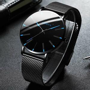 ★★メンズ腕時計 シンプル薄型腕時計 ビジネスファッション腕時計 068