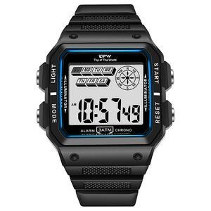 ★★メンズ腕時計 多機能スポーツ腕時計 ファッション腕時計 デジタル腕時計 089