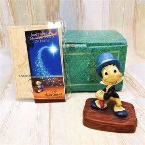 レア★WDCC ピノキオ ジミニー・クリケット Jiminy Cricket タキシード フィギュア★ディズニー Disney TDL 陶器製 置物