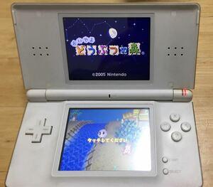 【動作確認済】【ソフト付】DS Lite ホワイト ニンテンドー 任天堂