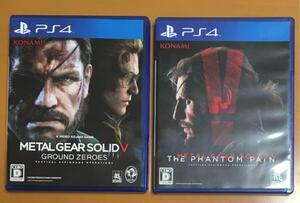 解説書付き送料無料 PS4 メタルギアソリッドⅤ ファントムペイン グラウンドゼロズ METAL GEAR SOLID 5 THE PHANTOM PAIN GROUND ZEROES