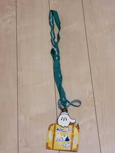 送料無料 チケットホルダー ディズニー パスケース ディズニーリゾート ネックストラップ 東京ディズニーランド ミッキー